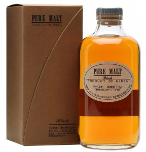 Whisky Nikka Pure Malt Black 0,5L